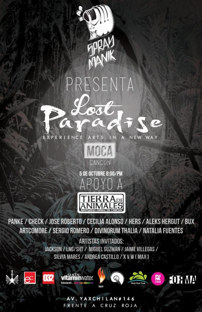 Lost Paradise Artshow